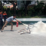 DRRMO leads fire prevention, earthquake drills