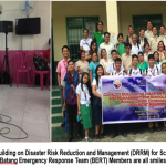 Capacity Building on Disaster Risk Reduction and Management (DRRM) for School Principals, School DRRM Coordinators, and Batang Emergency Response Team (BERT) Members